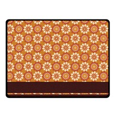 Floral Seamless Pattern Vector Fleece Blanket (small)