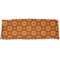 Floral Seamless Pattern Vector Body Pillow Case Dakimakura (two Sides)