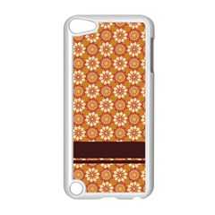 Floral Seamless Pattern Vector Apple iPod Touch 5 Case (White)