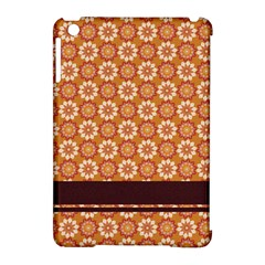Floral Seamless Pattern Vector Apple iPad Mini Hardshell Case (Compatible with Smart Cover)