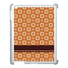 Floral Seamless Pattern Vector Apple Ipad 3/4 Case (white)