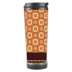 Floral Seamless Pattern Vector Travel Tumbler