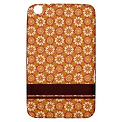 Floral Seamless Pattern Vector Samsung Galaxy Tab 3 (8 ) T3100 Hardshell Case