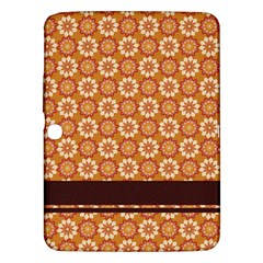 Floral Seamless Pattern Vector Samsung Galaxy Tab 3 (10.1 ) P5200 Hardshell Case