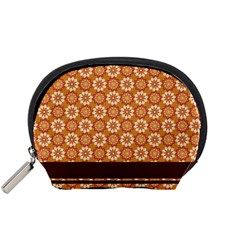 Floral Seamless Pattern Vector Accessory Pouches (Small)
