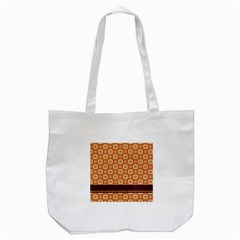 Floral Seamless Pattern Vector Tote Bag (White)