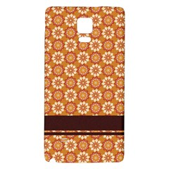 Floral Seamless Pattern Vector Galaxy Note 4 Back Case