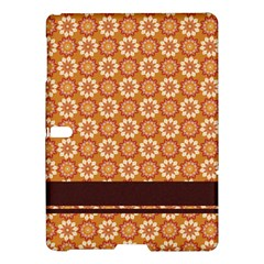 Floral Seamless Pattern Vector Samsung Galaxy Tab S (10.5 ) Hardshell Case