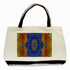 A Creative Colorful Backgroun Basic Tote Bag (two Sides)