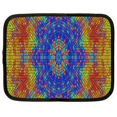 A Creative Colorful Backgroun Netbook Case (Large)