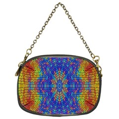 A Creative Colorful Backgroun Chain Purses (One Side)
