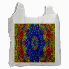 A Creative Colorful Backgroun Recycle Bag (Two Side)