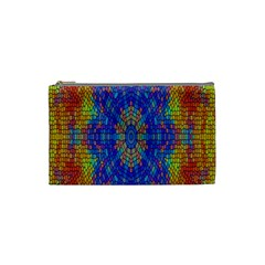 A Creative Colorful Backgroun Cosmetic Bag (Small)