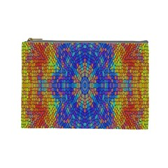 A Creative Colorful Backgroun Cosmetic Bag (large)