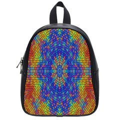 A Creative Colorful Backgroun School Bags (Small)