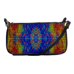 A Creative Colorful Backgroun Shoulder Clutch Bags
