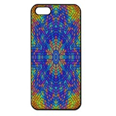 A Creative Colorful Backgroun Apple iPhone 5 Seamless Case (Black)