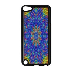 A Creative Colorful Backgroun Apple Ipod Touch 5 Case (black)