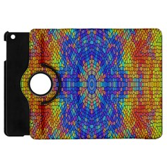 A Creative Colorful Backgroun Apple iPad Mini Flip 360 Case