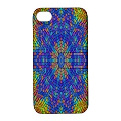 A Creative Colorful Backgroun Apple Iphone 4/4s Hardshell Case With Stand