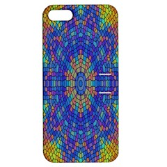 A Creative Colorful Backgroun Apple iPhone 5 Hardshell Case with Stand