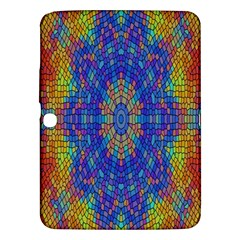 A Creative Colorful Backgroun Samsung Galaxy Tab 3 (10 1 ) P5200 Hardshell Case