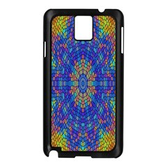 A Creative Colorful Backgroun Samsung Galaxy Note 3 N9005 Case (Black)