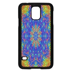 A Creative Colorful Backgroun Samsung Galaxy S5 Case (Black)