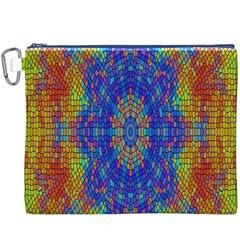 A Creative Colorful Backgroun Canvas Cosmetic Bag (xxxl)