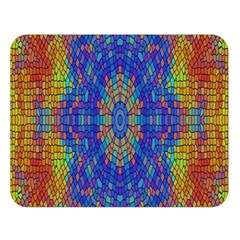 A Creative Colorful Backgroun Double Sided Flano Blanket (Large)