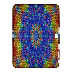 A Creative Colorful Backgroun Samsung Galaxy Tab 4 (10.1 ) Hardshell Case