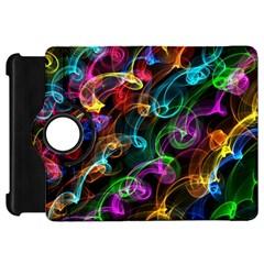 Rainbow Ribbon Swirls Digitally Created Colourful Kindle Fire Hd 7
