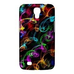 Rainbow Ribbon Swirls Digitally Created Colourful Samsung Galaxy Mega 6 3  I9200 Hardshell Case