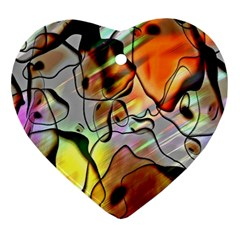 Abstract Pattern Texture Ornament (heart)