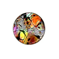 Abstract Pattern Texture Hat Clip Ball Marker
