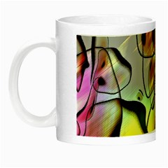 Abstract Pattern Texture Night Luminous Mugs