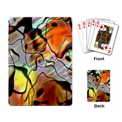 Abstract Pattern Texture Playing Card