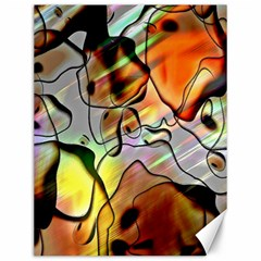 Abstract Pattern Texture Canvas 12  X 16