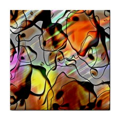Abstract Pattern Texture Face Towel
