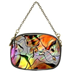 Abstract Pattern Texture Chain Purses (one Side)