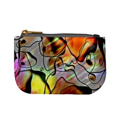 Abstract Pattern Texture Mini Coin Purses