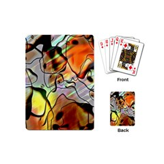 Abstract Pattern Texture Playing Cards (Mini)