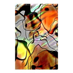 Abstract Pattern Texture Shower Curtain 48  X 72  (small)