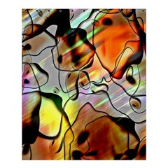 Abstract Pattern Texture Shower Curtain 60  x 72  (Medium)