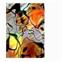 Abstract Pattern Texture Large Garden Flag (Two Sides)
