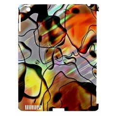 Abstract Pattern Texture Apple Ipad 3/4 Hardshell Case (compatible With Smart Cover)