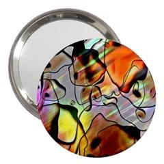 Abstract Pattern Texture 3  Handbag Mirrors