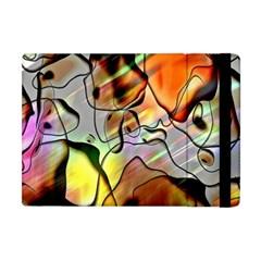Abstract Pattern Texture Apple iPad Mini Flip Case
