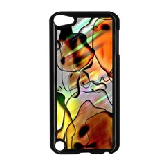 Abstract Pattern Texture Apple iPod Touch 5 Case (Black)
