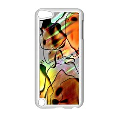 Abstract Pattern Texture Apple Ipod Touch 5 Case (white)
